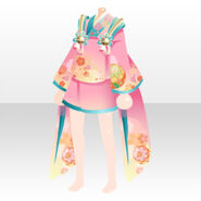 (Tops) Cute Child Spirit Mini Yukata ver.A pink