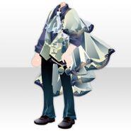 (Tops) Elegant Perfume Suit Style ver.A blue