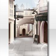(Wallpaper Profile) Meraviglioso Town Wallpaper ver.A white