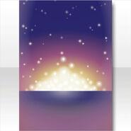 (Wallpaper Profile) Snow Land Horizon Shining Wallpaper ver.A purple