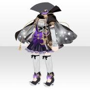 (Tops) Phantom Witch Skirt Style ver.A black