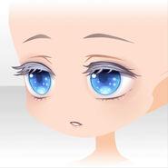 (Face) Starry Skate Ice Princess Drowsing Face ver.A blue