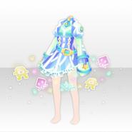 (Tops) Virtual Planet Pixel Friends Dress ver.A green
