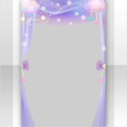 (Show Items) Night Dress Party Curtain Decor1 ver.1