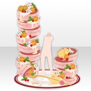 (Avatar Decor) Love Pancake Tower ver.A pink