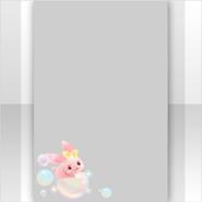 (Show Items) Bathtime Rabbit On Bubble Decor2 ver.1