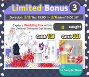 Fox Wedding Limited Time Bonus 3