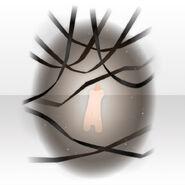 (Avatar Decor) Lavshuca Cross Ribbon Shadow ver.A black
