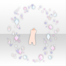 (Body Accessories) Surrounded by Glass Shower ver.A white