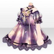 (Tops) Hydrangea Butterfly One-Piece ver.A purple