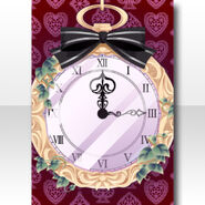 (Wallpaper Profile) White Rabbit Lost Pocket Watch Wallpaper ver.A red