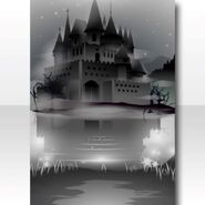 (Wallpaper Profile) Ancient Fortress Swamp Wallpaper ver.A white
