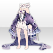 (Tops) Alice Classical Sexy Lolita Dress ver.A purple
