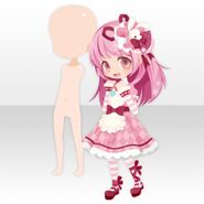 (Face Accessories) With Momo Right ver.A pink
