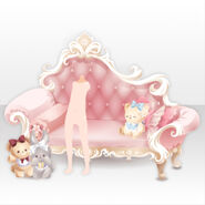 (Shoes) Animal Friends and Sofa ver.A pink