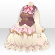 (Tops) Royal Girl Vest and Retro Vest ver.A brown