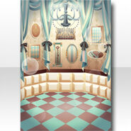 (Wallpaper Profile) Chocolat Room for Chess Wallpaper ver.A green