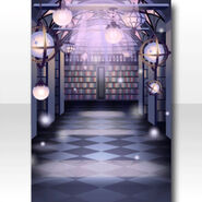 (Wallpaper Profile) Phantom Library Wallpaper ver.A purple