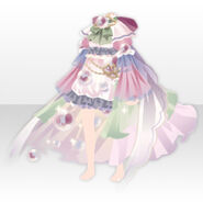 (Tops) Angelic Magical Feather Dress ver.A pink