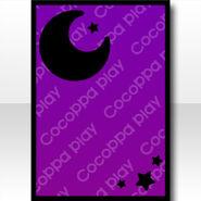 (Wallpaper Profile) Simple Night Sky Wallpaper ver.A purple