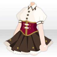 (Tops) Star Corset Mini One-Piece ver.A brown