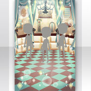 (Show Items) Chocolat Room for Chess Stage Green ver.1