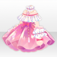 (Tops) Jewelry Princess Morganite Frill Dress ver.A pink