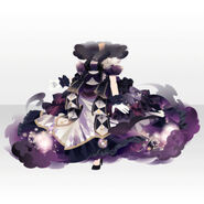 (Tops) Princess Controlling Sky and Moon Dress ver.A purple