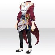 (Tops) Phantom Cool Sorcerer Style ver.A red