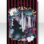 (Wallpaper Profile) Alice in Picture Book Wallpaper ver.A red