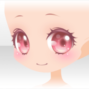 (Face) Sweet Berry Smile Face ver.A pink