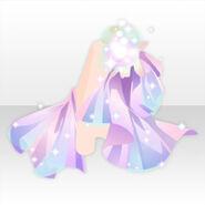 (Outerwear) Mysterious Light Cape ver.A pink