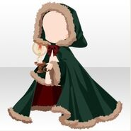 (Outerwear) Snow Land Hooded Robe ver.A green