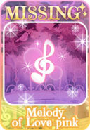 (Characters) Sing! Sing! Sing! - Melody of Love Pink