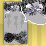 (Show Items) La Clarte Lace Ribbon Decor2 Black ver.1