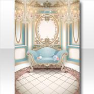 (Wallpaper Profile) Classic Rococo Secret Small Room Wallpaper ver.A white
