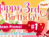 CocoPPa Play 3rd Anniversary Promo 1