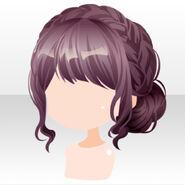 (Hairstyle) Fontana Braid Up Hair ver.A brown