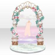 (Back Accessories) Fontana Wonder Arch Gate ver.A white