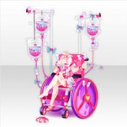 (Tops) Dark Cute Sexy Nurse Style ver.A pink