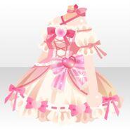 (Tops) Magical Heart Mini Dress ver.A pink