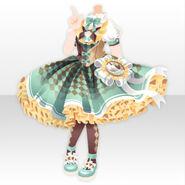 (Tops) Chocolat Queen Lolita Dress ver.A green