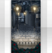 (Show Items) Back Street in Heavy Rain Stage ver.1
