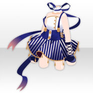(Tops) Acrobat Girl One-Piece ver.A blue