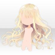 (Hairstyle) Floracion Princess Wavy Hair ver.A yellow