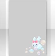 (Show Items) Bubbly Rabbit Bathtime Decor1 ver.1