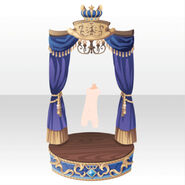 (Back Accessories) Throne Room for Imperial Princess ver.A blue