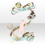 (Body Accessories) Chocolat Packaging Ribbon ver.A green