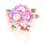 (Gift) Dolls Tea Party - Clutch Bouquet