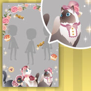 (Show Items) Rose Arch with Sweets & Tea Cat Decor1 ver.1
